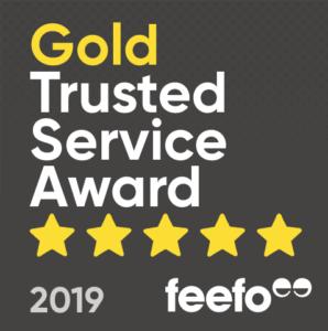 Feefo Trusted Award 2019