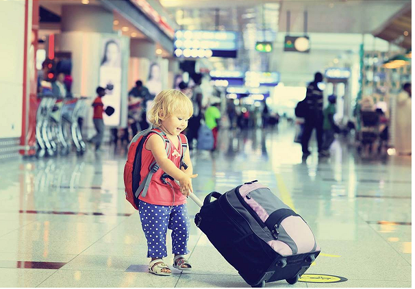 Travelling with Children from Gatwick Airport.